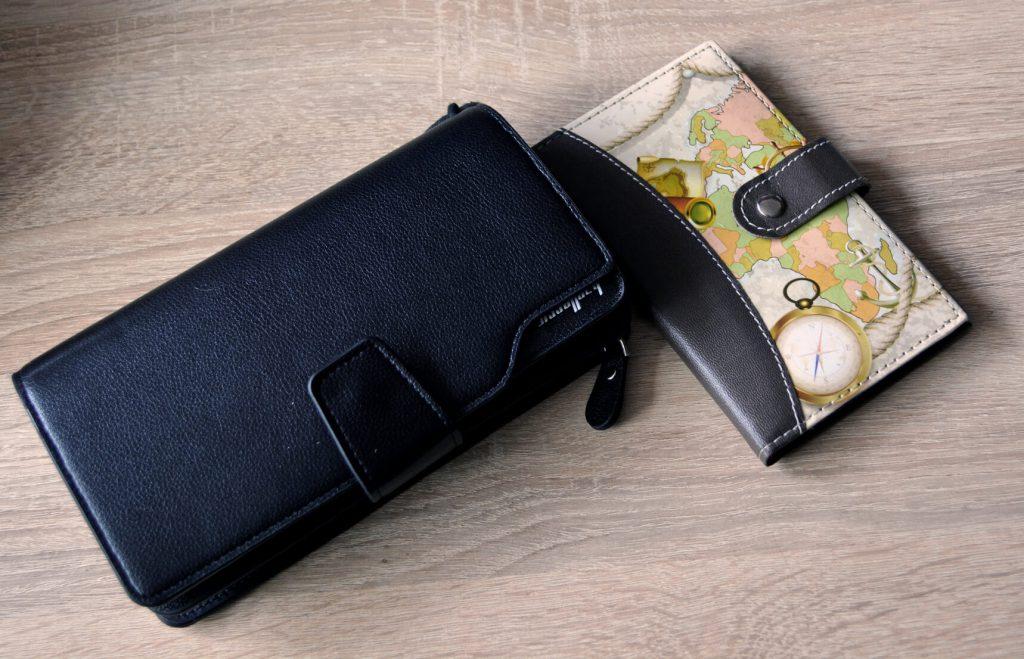 stylowy portfel damski na karty kredytowe